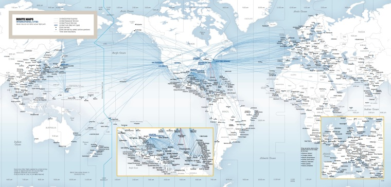 united-flight-map