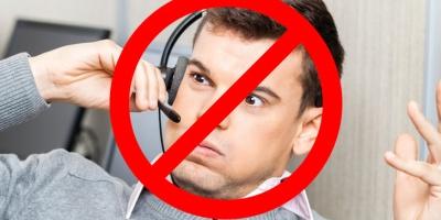 Stop telemarketing calls